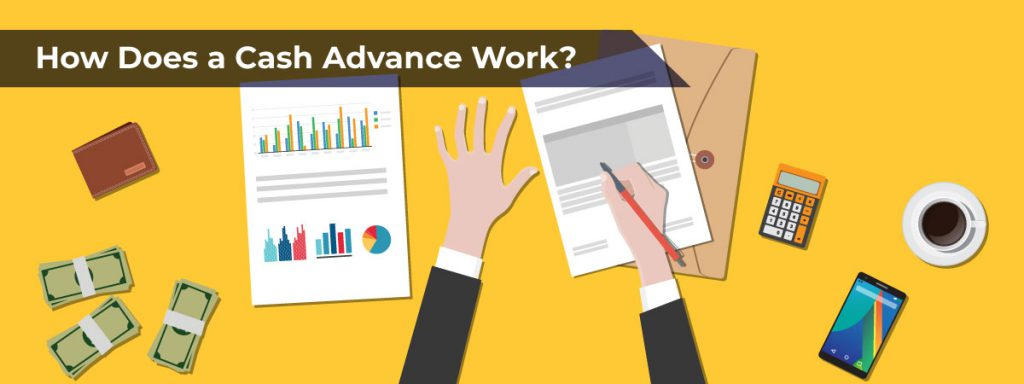 how does a cash advance work?