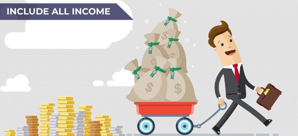 include all income