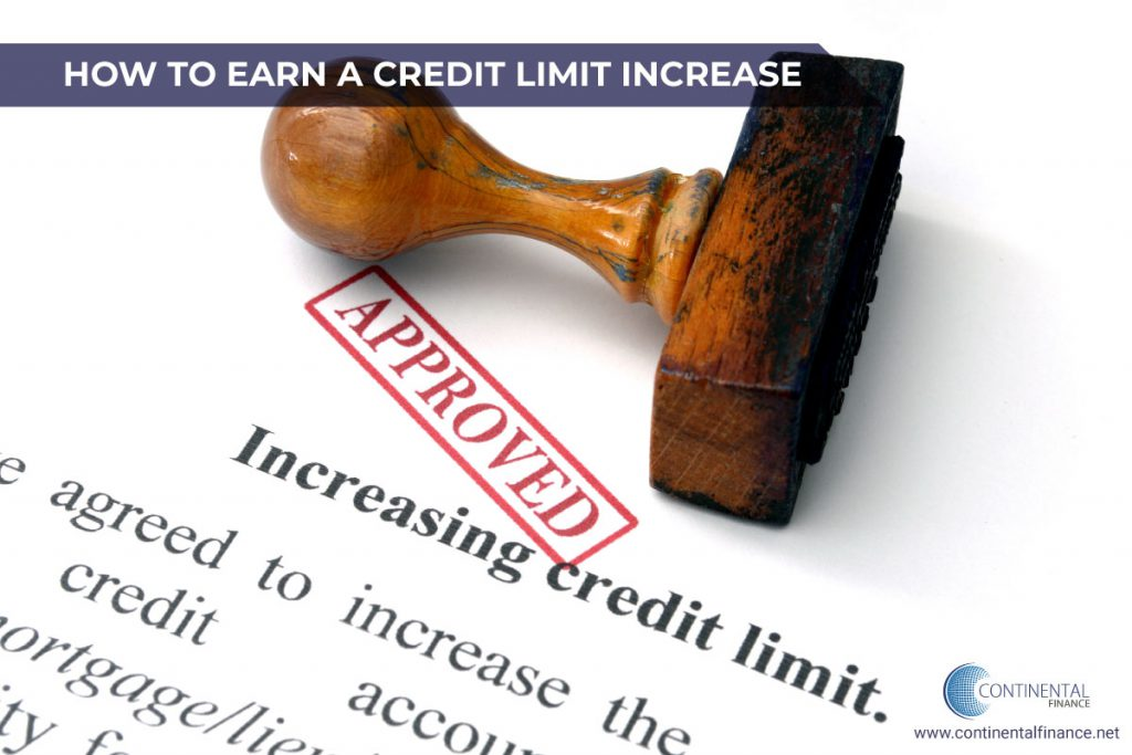 how to earn a credit limit increase