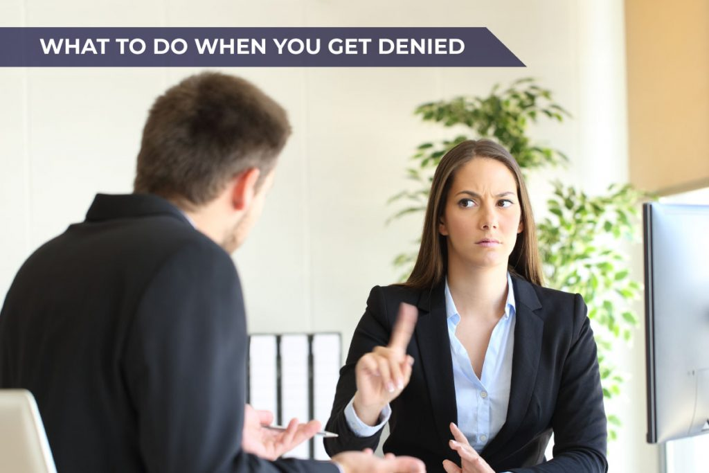 what to do when you get denied a credit limit increase